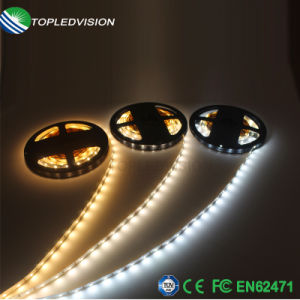 Gran cantidad de lúmenes/LED de 60 LEDs de 120M/M 16W LED de cinta tira con TUV CE
