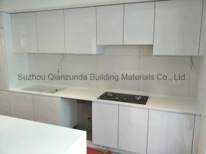 Настраиваемые твердой поверхности кухонной счетчики искусственного камня экологически безвредные Кухонные столы