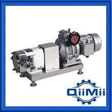 SS304 санитарных лопастных электродвигателя насоса для передачи
