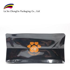 Huit côtés joint Cat à fond plat de sac de l'emballage alimentaire