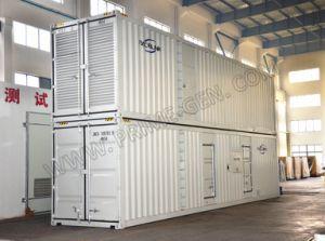 1375Ква Double-Stack контейнерных ультра тихие дизельных генераторных установок на базе Perkins настраиваемый