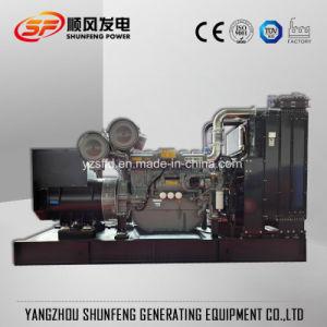 280квт электроэнергии бесшумный дизельный генератор с двигателем Perkins