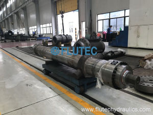 アルミ鋳造のための高温の下で働くことができる水圧シリンダを傾ける顧客用炉