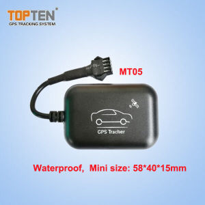 Tensione di funzionamento impermeabile dell'inseguitore 6~45 dell'automobile di GPS con la memoria di 1m, batteria di riserva di Alert& di vibrazione (MT05-JU)