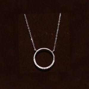 Fashion 925 Stelring Silver Necklace Bijoux, commerce de gros de bijoux, de placage rhodium et Nickle libre
