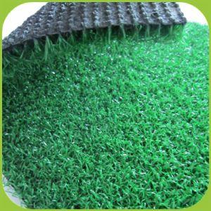 Grünes Gras-Gerichts-Golf-künstliches Plastikim freienteppich-Fälschungs-Gras