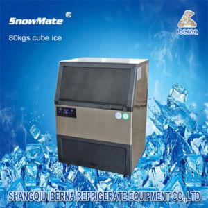 Contrôle automatique de la glace 80kgs Maker pour la transformation des aliments