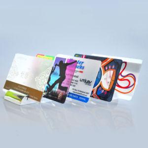 プラスチック透過PVCビジネス名刺か名刺