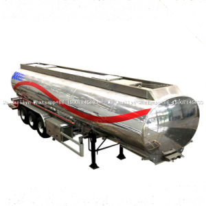 연료 트레일러 유조선, 알루미늄 연료 탱크 트럭, 반 탱크 트레일러