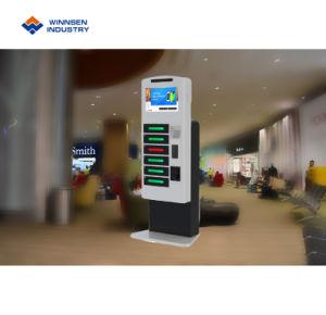 Intelligente Ladestation mit 19 Zoll-Touch Screen und Fernplattform für die Prüfung des Einkommens