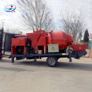 Pompa per calcestruzzo mobile del motore elettrico con la betoniera da vendere