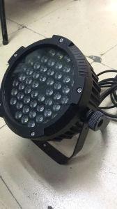 DJ屋外54*3W RGBの薄い防水同価の段階ライト