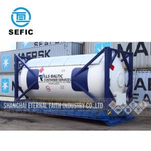 Più nuovo contenitore criogenico 20FT (SEFIC-T75) del serbatoio di iso di pressione bassa 2018