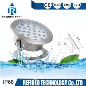 36W de alta potencia LED IP68, bajo el agua fuente de luz LED Spotlight proyector LED