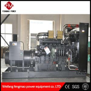 자동 침묵하는 600kw 디젤 엔진 발전기 세트를 각자 시작하십시오