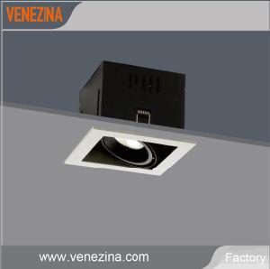 Регулируемый 6W 10W 15Вт Светодиодные светильники лампа, решетка затенения