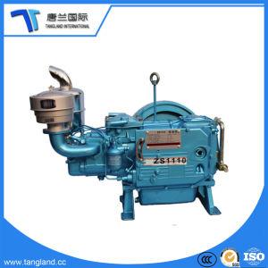 Dieselmotor van de Pomp van de Brand van de Dieselmotor Zs195/22 PK van het Water van de dieselmotor de Koelere