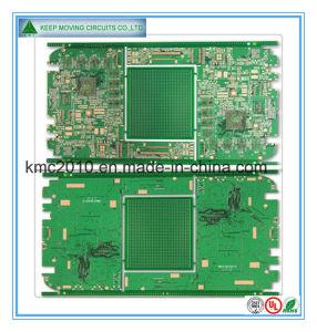 Impedância do Diferencial de IDH multicamada PCB com o OSP