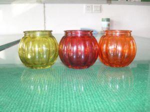 ホーム装飾のクリスタルグラスの蝋燭ホールダーかガラスの瓶