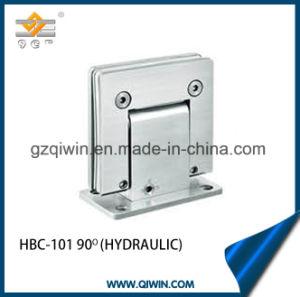 A parede de vidro vidro, 304 aço inoxidável chuveiro hidráulica de montagem da dobradiça (HBC-101)
