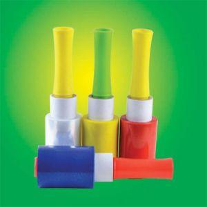 ハンドルのプラスチック製品が付いているプラスチックフィルムパレット覆いのフィルム