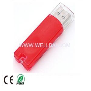 PromotionのためのLogo PrintingのプラスチックUSB Flash Disk