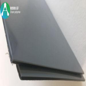 曲がることのための帯電防止光沢のある灰色の堅いPVCシート