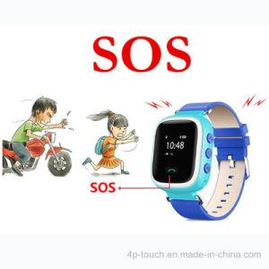 Slim Mobiel Sos GPS Horloge met LCD Vertoning (Y7)