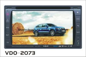 Doppio Giocatore-Vdo 2073 dell'automobile DVD di BACCANO