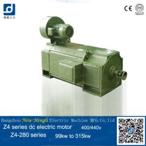 El cepillo 77kw 400V DC Motor del ventilador eléctrico