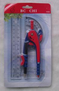 Bussola di plastica stabilita dell'allievo della bussola stabilita della cancelleria