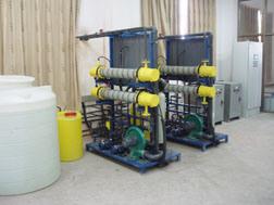 塩水(NT-L-1000)からのナトリウム次亜塩素酸塩の発電機