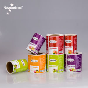 Hot Vente de produits personnalisés à l'emballage du papier adhésif Impression des étiquettes&/ vinyle adhésif des étiquettes d'impression
