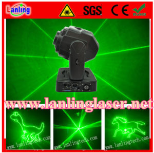 Зеленый лазер-Лампа Moving-Head анимации