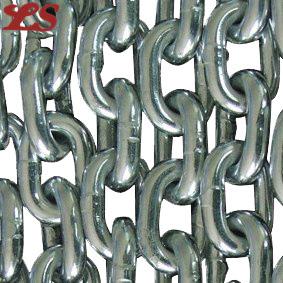 Ventas soldada de acero galvanizado en caliente de la cadena de enlaces