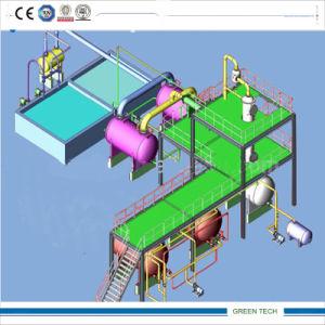 Aceite de plástico a la planta de refinación de petróleo diesel 10tpd