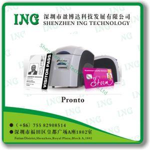 Pronto Magicard ID 카드 인쇄 기계 단 하나 편들어진 싼 인쇄 기계