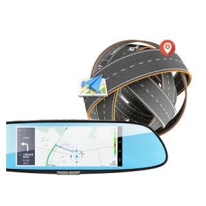 C08 7 сенсорный экран Dashcam автомобиль с двумя камеры заднего вида Car DVR 3G Android GPS-Dash кулачки SIM-карты