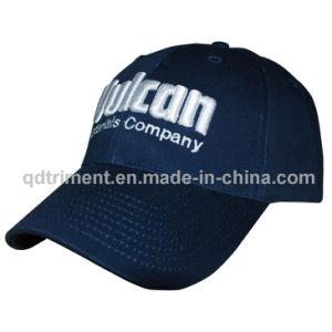 O algodão sarjado 3D Puff Bordados Sport Golf Cap (OST8501-1)
