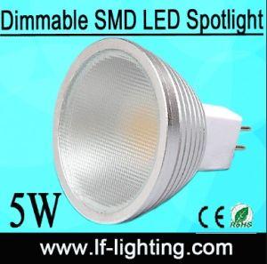 Dimmable SMD MR16 GU10 E27 LED Scheinwerfer 5W 4W (LF-MR1605C0)