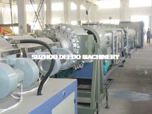 Tubo de PVC doble de alto rendimiento que hace la máquina