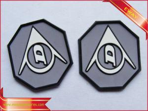 Distintivo del PVC impresso distintivo di gomma molle dei bagagli
