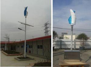 Alta turbina di vento verticale a spirale efficiente a basso rumore del generatore di vento 300W
