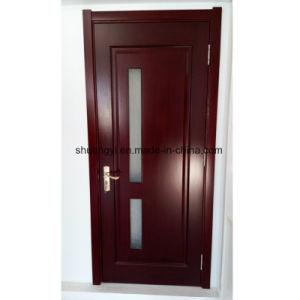 Gute Qualitätsinnenbadezimmer Kurbelgehäuse-Belüftungmdf-hölzerner Tür-Entwurf