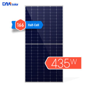 Une grande efficacité 370W 380W 400W 440W 445W 460W mono Fabricant panneau solaire