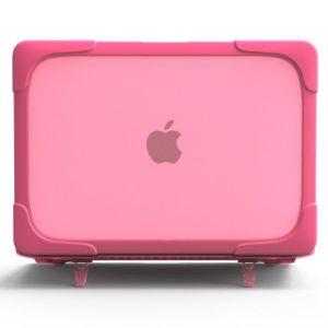 La goma de borrar estuche duro caparazón cubierta con Kickstand para MacBook Pro.