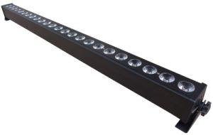 Bañador de pared de la luz de las inundaciones 24*3W LED RGB DMX Bar Matrix