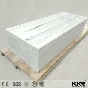8~15mm Fake Mable Look Surface solide mur de pierre de bord