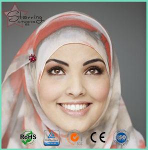 55мм акрилового волокна Даймонд Хэд мусульман из нержавеющей стали прямой хиджаба контакт