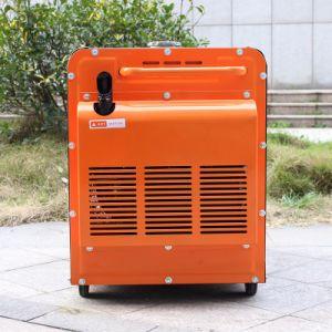 Tipo silenzioso 380V portatile del bisonte (Cina) 5 chilowatt del diesel del generatore, generatore diesel resistente a tre fasi 380V di CA
